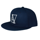 ALIVE ATHLETICS HATS - LOGO NAVY(ロゴネイビー)