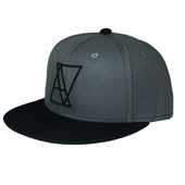 ALIVE ATHLETICS HATS - LOGO GRAY(ロゴグレイ)