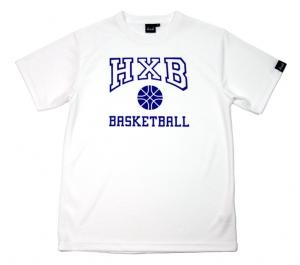 HXB 【COLLEGE DRY T-SHIRT】 WHITE