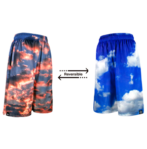 HXB Reversible Mesh Pants【CLOUD】