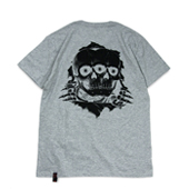 Terrible Whore 【BONE REAPER TEE】 GRAY