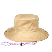HUGEBLOCKS 【NYLON SAFARI HAT】 BEIGE