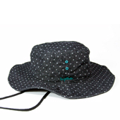 HUGEBLOCKS 【DOT DENIM HAT】 BLACK
