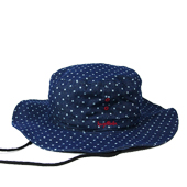 HUGEBLOCKS 【DOT DENIM HAT】 INDIGO