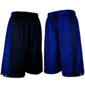 HXB 【REVERSIBLE MESH PANTS】 BLUE MAMBA