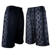 HXB 【REVERSIBLE MESH PANTS】 BLACK MAMBA