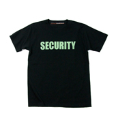 SALE!! HUGEBLOCKS 【SECURITY T-shirt】 BLACK