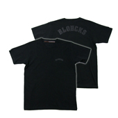 SALE!! HUGEBLOCKS 【BLOOCKS T-shirt】 BLACK