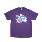 HXB 【HOOP STEP JUMP KIDS T-SHIRT】 PURPLE