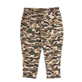HUGEBLOCKS 【CAMO CROPPED PANTS】
