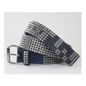 HUGEBLOCKS 【JAGI-belt】 BLUE/silver