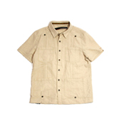 HUGEBLOCKS 【HABANA shirts】 NATURAL