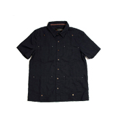 HUGEBLOCKS 【HABANA shirts】 NAVY