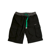 HUGEBLOCKS 【CRM PANTS】 BLACK×green