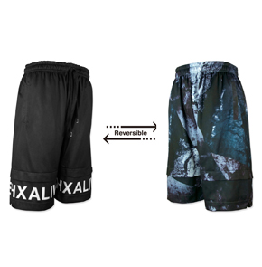 "hxalive ""unexpected"" Reversible Layered Pants【Frack】"