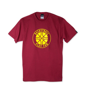 HXB 【COTTON T-SHIRT】 PLAY FUN BALL / CRIMSON RED