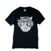 HXB 【TIGER BALL COTTON T-SHIRT】 BLACK