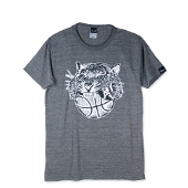 HXB 【TIGER BALL T-SHIRT】 MIX CHARCOAL