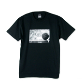 HXB 【ROCKI'N BALL PHOTO COTTON T-SHIRT】 BLACK