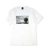 HXB 【ROCKI'N BALL PHOTO COTTON T-SHIRT】 WHITE