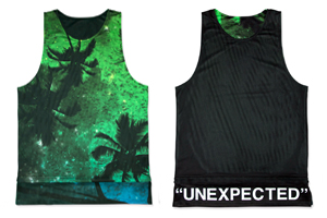 "hxalive ""unexpected""Reversible Layered Tank【Parm Tree】"