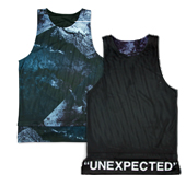 "hxalive ""unexpected"" Reversible Layered Tank【Frack】"