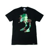 SUPER 7 【STAR WARS CAMO WALKER T-shirt】 BLACK