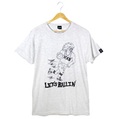 HXB 【Terry Hawk COTTON T-SHIRT】 ASH