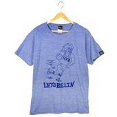 HXB 【Terry Hawk COTTON T-SHIRT】 NAVY ASH