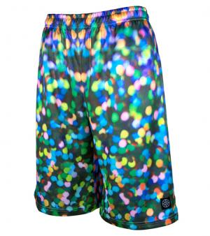 HXB 【Graphic Mesh Pants】 Hologram