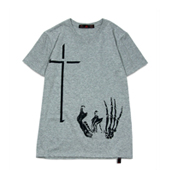 Terrible Whore 【ICONOCRASS TEE】 GRAY