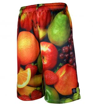 HXB × Futaba Fruits【Graphic Mesh Pants】Fruits