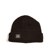 HUGEBLOCKS 【REGULAR KNIT CAP】 BLACK