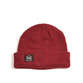HUGEBLOCKS 【REGULAR KNIT CAP】 BURGUNDY