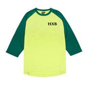 HXB Mesh 3/4 Sleeve Tee 【Xover】 LIME/GREEN