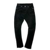HUGEBLOCKS X BIG JON 【BANANA CORDUROY PANTS】 BLACK