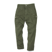 HUGEBLOCKS X WWS 【LOW CROTCH CARGO PANTS】 KHAKI