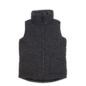 HUGEBLOCKS 【NEP WOOL VEST】 BLACK