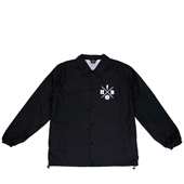 HXB 【CROSS OVER COACH-JKT】 BLACK/white