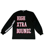HXB 【HIGH XETRA BOUNDZ LongSleeveTee】 BLACK