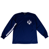 HXB 【CROSS OVER LongSleeveTee】 NAVY