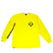 HXB 【CROSS OVER LongSleeveTee】 YELLOW