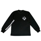 HXB 【CROSS OVER LongSleeveTee】 BLACK