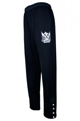 HXB 【WARMUP PANTS】 BLACK