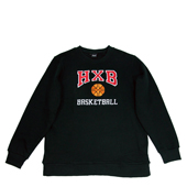 HXB 【SWEAT CREW】 BLACK