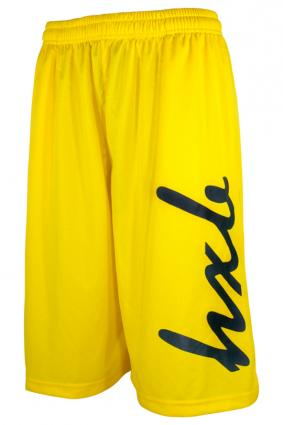 HXB 【EASY MESH SHORTS】 HUGE LOGO Yellow