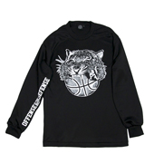 HXB 【TIGER BALL LongSleeveTee】 BLACK