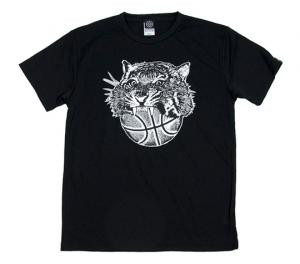 HXB 【TIGER BALL DRY T-SHIRT】 BLACK